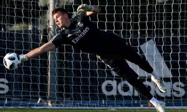 Зідан пообіцяв Луніну місце в стартовому складі на матч Кубку Іспанії