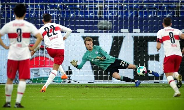 Шальке та Штутгарт не виявили сильнішого у 6 турі Бундесліги