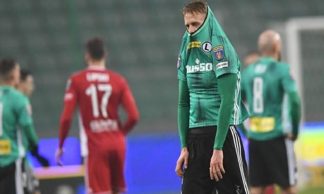 Шабанов привіз пенальті у ворота Легії