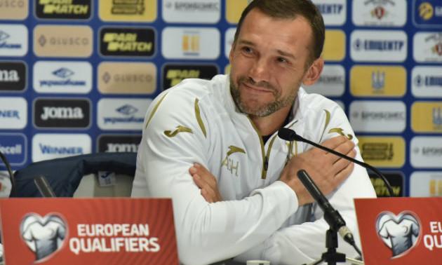 Шевченко: Пишаюся гравцями збірної України, на полі були справжні леви