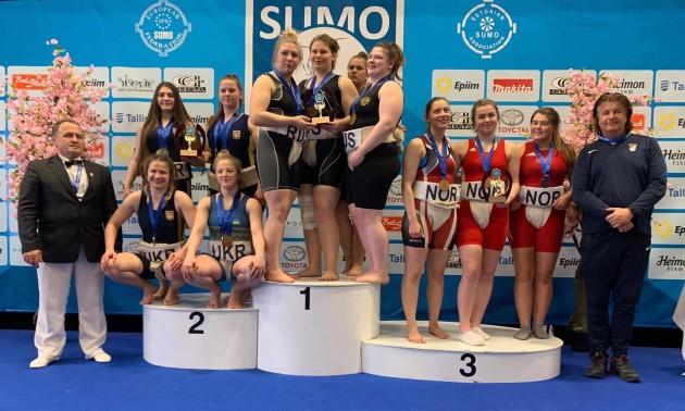 Українці стали другими на чемпіонаті Європи з сумо