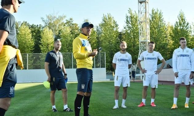 Шевченко назвав заявку на матчі проти Франції, Німеччини та Іспанії