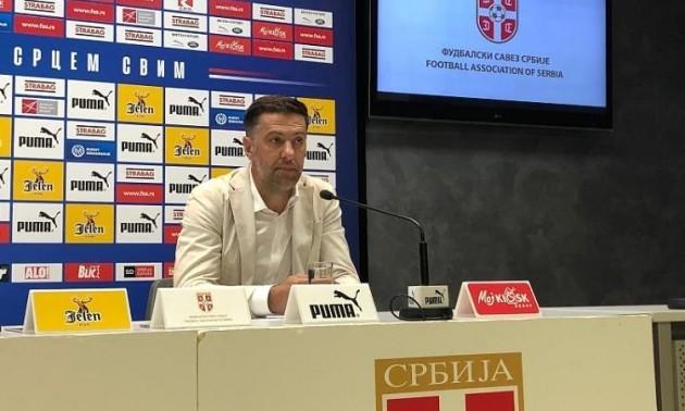 Крстаїч звільнений з посади головного тренера збірної Сербії