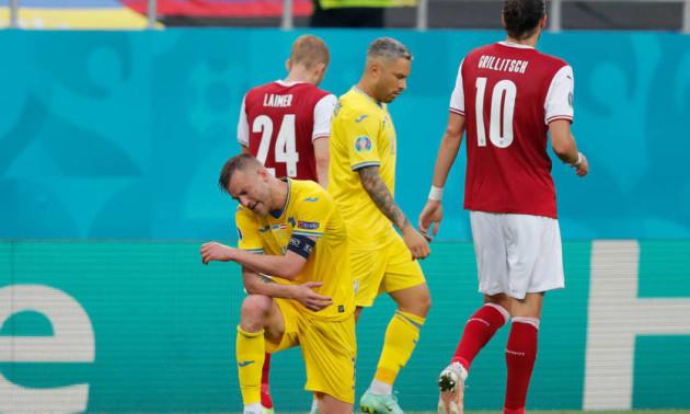 Збірна України програла Австрії на Євро-2020
