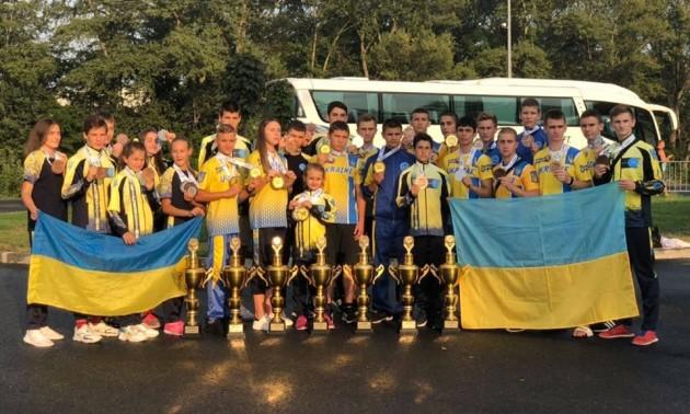 Юні українці здобули 34 нагороди на Євро-2019