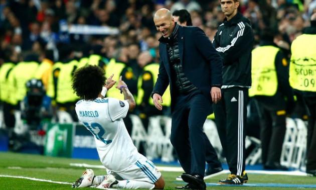 Марсело передумав залишати Реал після призначення Зідана