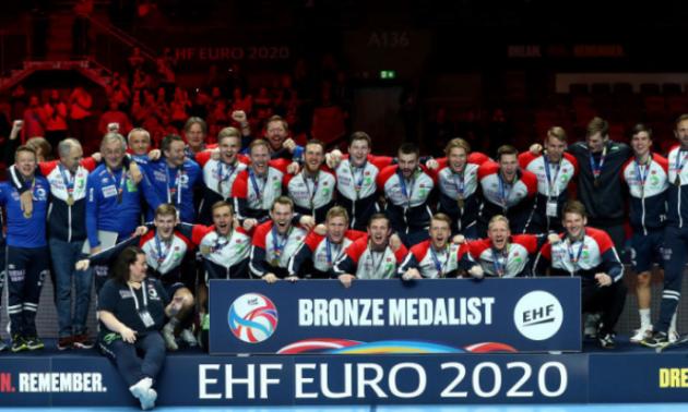 Норвегія впевнено обіграла Словенію в матчі за бронзу чемпіонату Європи-2020