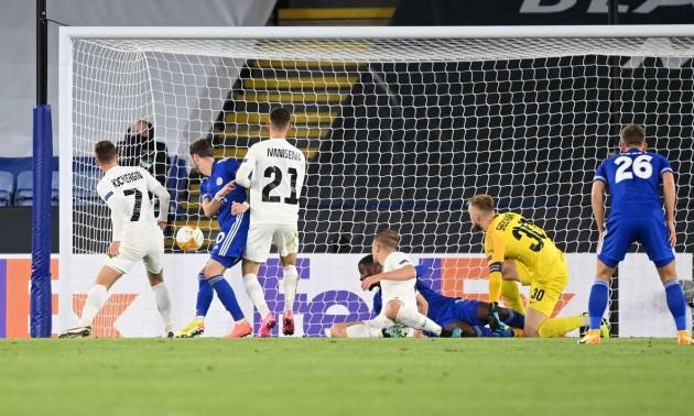 Лестер - Зоря: відео голів і огляд матчу Ліги Європи