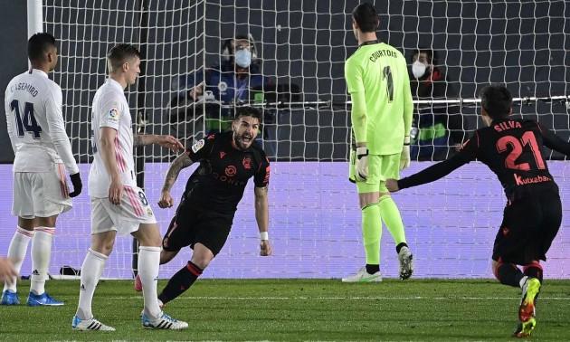 Реал Сосьєдад втратив перемогу над Реалом у 25 турі Ла-Ліги