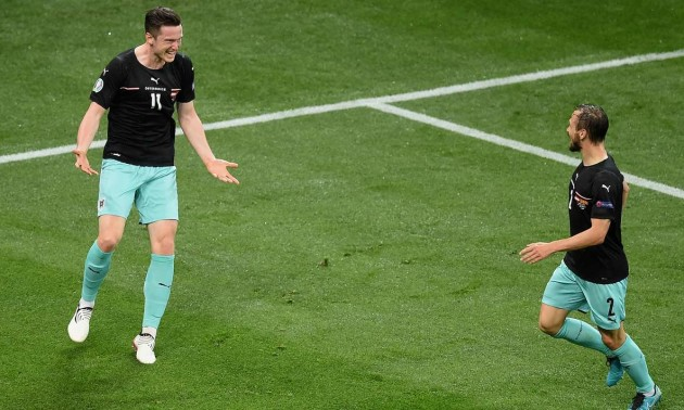 Австрія впевнено здолала Північну Македонію на Євро-2020
