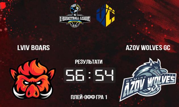 Lviv Boars переграли Azov Wolves та зрівняли рахунок в серії плей-оф