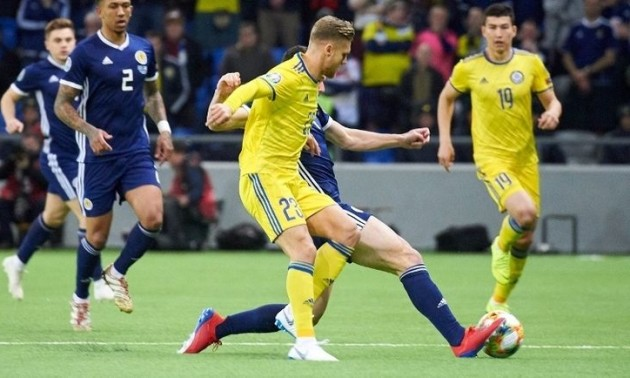 Шотландія – Казахстан 3:1. огляд матчу