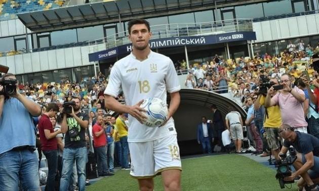 Збірна України вперше в історії зіграє у новій формі