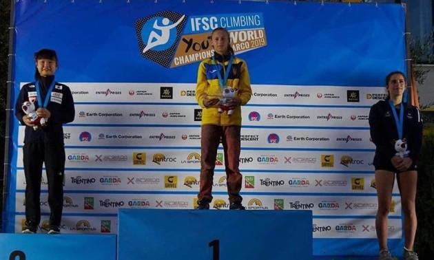 Українка стала чемпіонкою світу зі скелелазіння