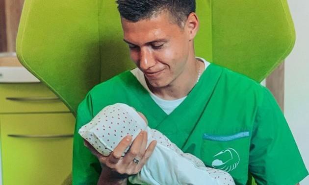 Захисник Шахтаря став батьком