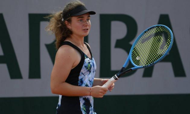 Снігур виграла стартовий матч на юніорському Підсумковому турнірі ITF