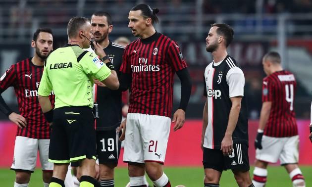 Ювентус врятувався у матчі із Міланом у Кубку Італії