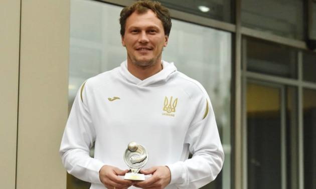 П'ятова визнали найкращим гравцем матчу Португалія - Україна
