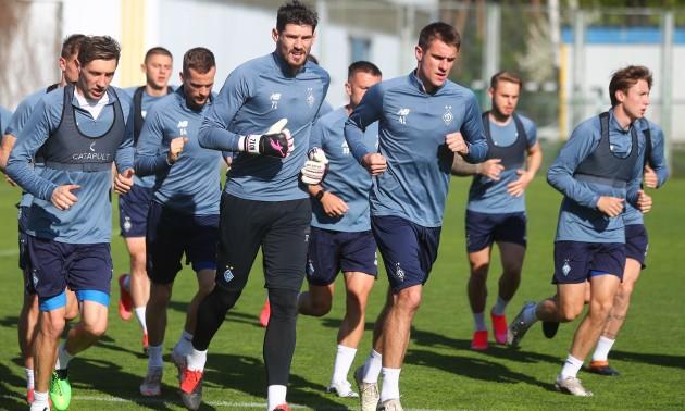 Динамо готується до фіналу Кубку України із Зорею