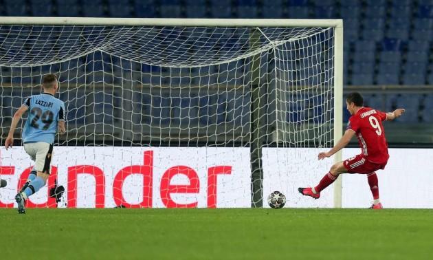 Лаціо - Баварія 1:4: відео голів і огляд матчу Ліги чемпіонів
