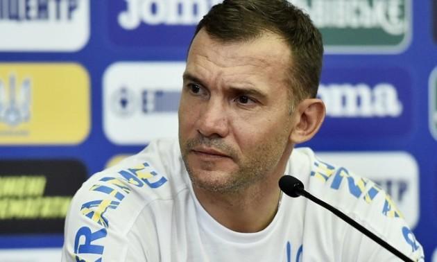 Шевченко мав непорозуміння з УАФ перед Євро-2020