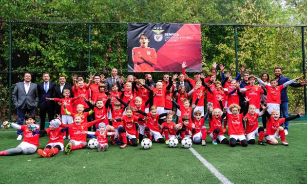 Бенфіка відкрила у Харкові футбольну школу