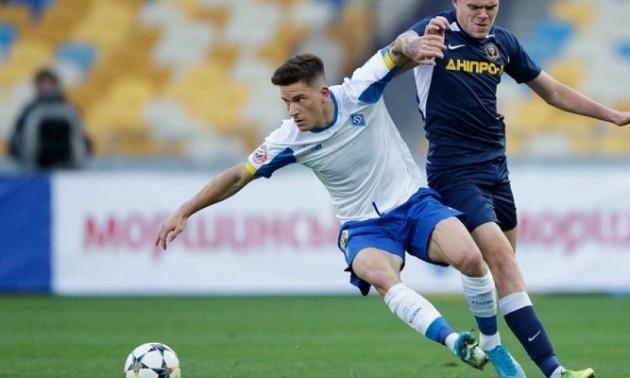 Динамо - Дніпро-1 2:0. Відео голів