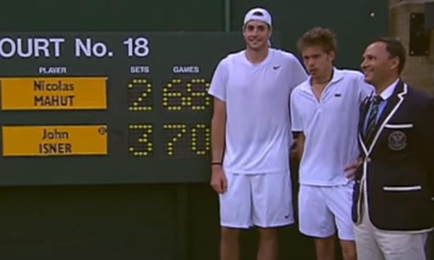 11 років тому зіграли найдовший матч в історії тенісу