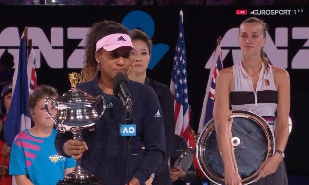 Осака вперше в кар'єрі перемогла на Australian Open