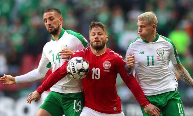 Ірландія – Данія 1:1. Огляд матчу