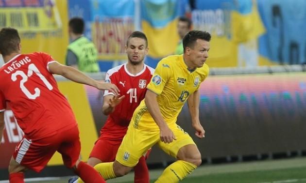 Коноплянка забив 20 м'яч за збірну України