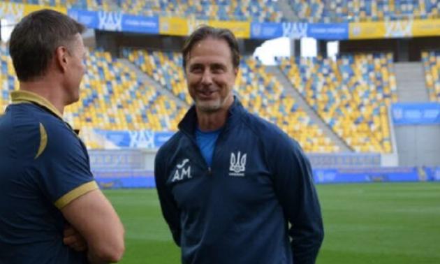 Тренер збірної України анонсував поповнення в національну команду