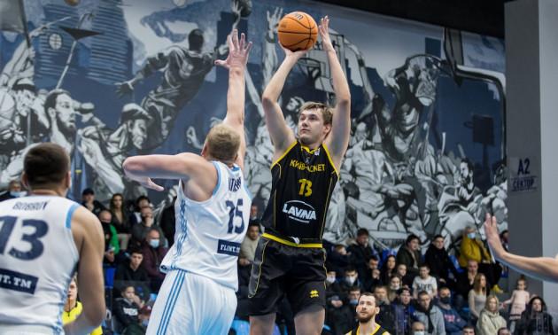 Київ-Баскет переміг Дніпро у Суперлізі