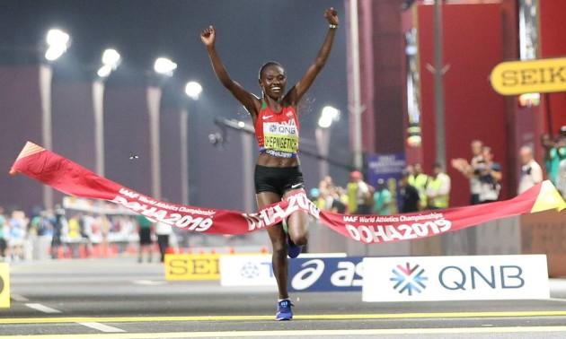 Кенійка виграла марафон на чемпіонаті світу, українка не фінішувала