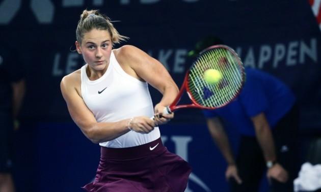 Костюк у драматичному матчі поступилася Зігемунд та покинула турнір у Люксембурзі