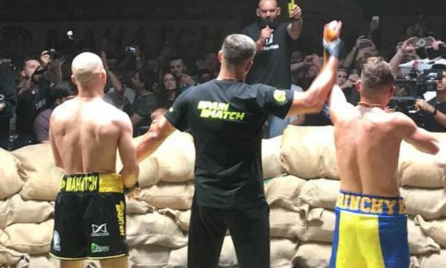 Берінчик переміг Лобова технічним нокаутом у бою на голих кулаках