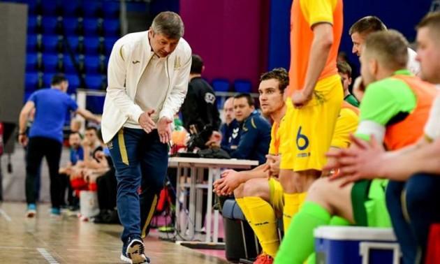 Косенко назвав склад збірної України на спаринги з Молдовою