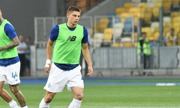 Миколенко став найкращим гравцем Динамо у матчі із Брюгге
