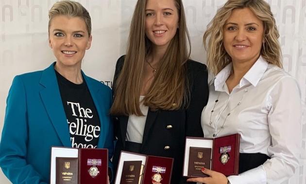 Блохіну нагороджено орденом Княгині Ольги ІІІ ступеня