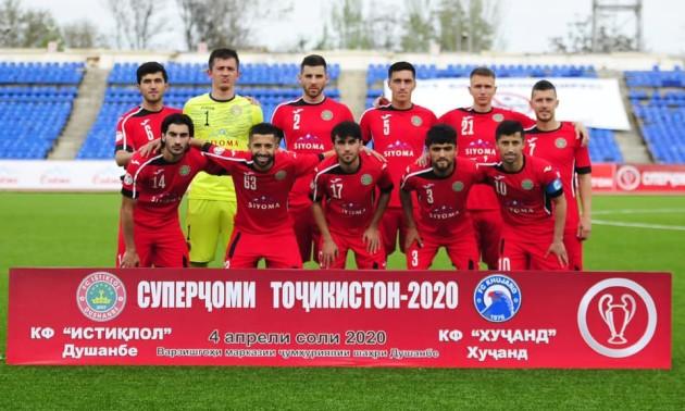 Істіклол під керівництвом українця став дев'ятиразовим володарем Суперкубка Таджикистану