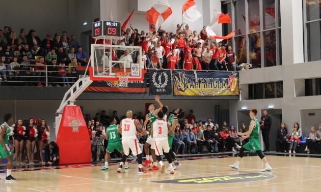 Прометей здобув дебютну перемогу в українській Суперлізі