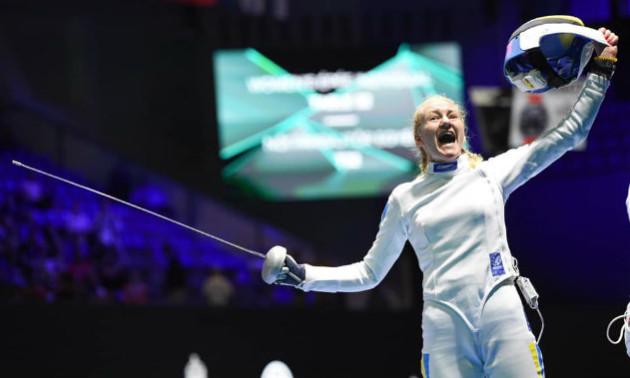 Українська фехтувальниця вийшла до півфіналу чемпіонату світу