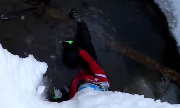 Лижник під час спуску впав у восьмиметрову яму на трасі в Сочі. Наслідки жахливі