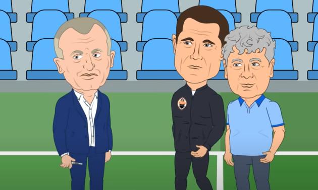 Вийшов мультфільм про призначення Луческу тренером Динамо