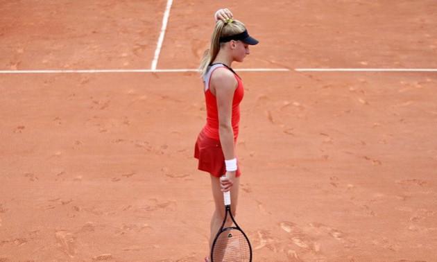 Ястремська знялася з турніру Ролан Гаррос через травму росіянки