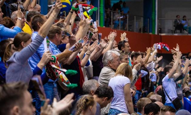 Чемпіонат Білорусі з волейболу завершено достроково