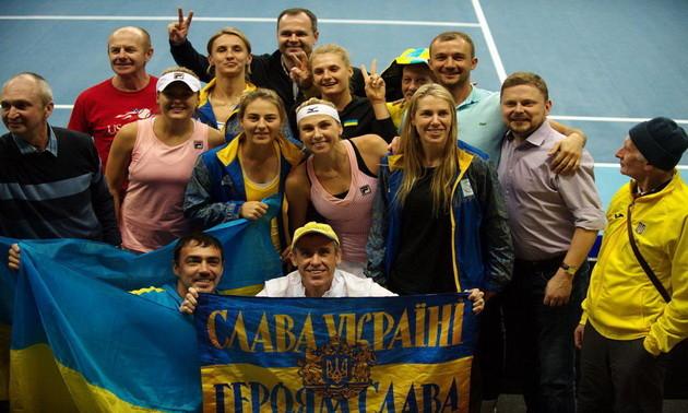 Збірна України перемогла Естонію в Кубку Федерації, але не вийшла в фінал