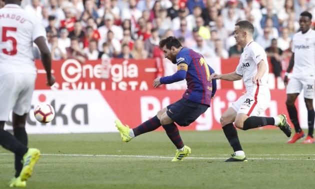 Мессі знищив Севілью в 25 турі Ла-Ліги. Огляд матчу Барселона - Севілья