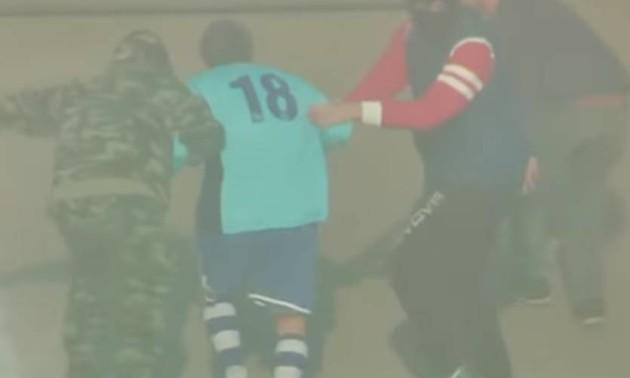 Футболіста викрали на гелікоптері прямо посеред матчу