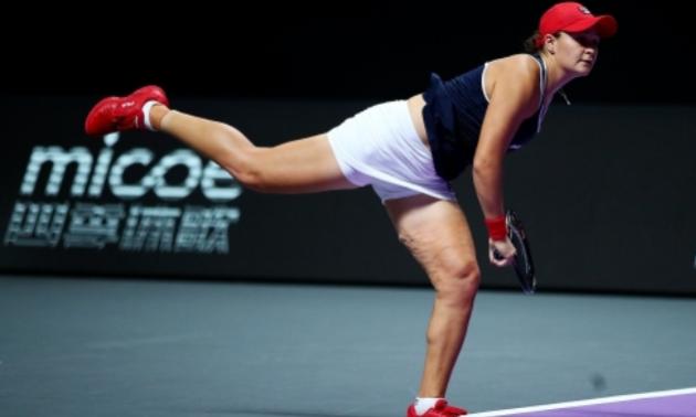 Барті перемогла Квітову та вийшла у півфінал Підсумкового турніру WTA